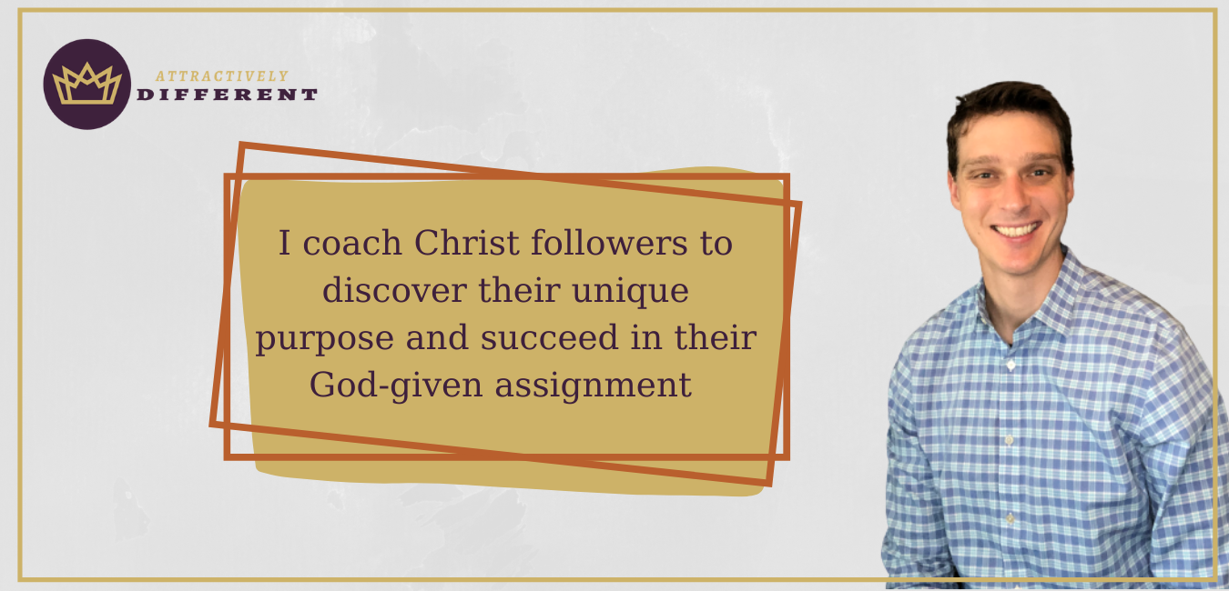 I coach Christian believers how to discover their life purpose and succeed in their God-given assignment